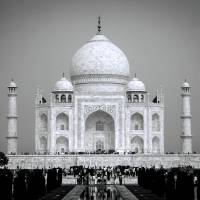 White Taj Art Prints & Posters by Pooja Ahuja
