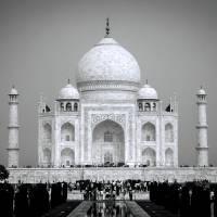 White Taj Art Prints & Posters by Pooja Ahuja