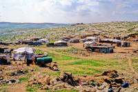 Nomad Camp Behind Jerusalem 1992