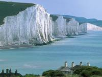 Beachy Head and Seven Sisters Cliffs, East Sussex,