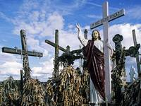 Hill of Crosses, Siauliai, Lithuania