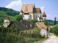 Saxon Fortified Church of Biertan, Near Sighisoara