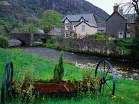 Stone Village of Beddgelert, Snowdonia National Pa