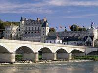 Chateau d'Amboise and Bridge, Loire Valley, France