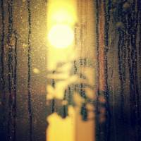Rainy Window Abstract Art Prints & Posters by zachary herrera