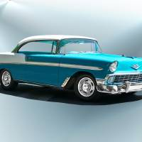 1956 Chevrolet Bel Air Art Prints & Posters by Dave Koontz