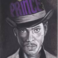 Prince-Your Purple Majesty Art Prints & Posters by Bobby Edwards