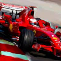 Ferrari Formula One 2103 Art Prints & Posters by Tom Sachse