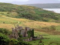 Clifden Castle, County Galway, Ireland