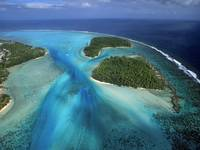 Fluidity, Moorea Island From Above, French Polynes