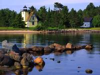 Bette Grise Lighthouse, Lake Superior, Upper Penin