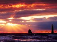 Grand Haven South, Pierhead Lighthouse, Michigan