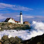 """Portland Head Light, Cape Elizabeth, Maine"" by canvass22"