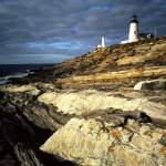 """Sunrise light on Pemaquid Lighthouse, New Harbor,"" by canvass22"