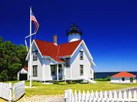 West Chop Lighthouse, Tisbury, Martha's Vineyard,