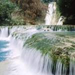 """Minas Viejas Waterfalls, Huasteca Potosina, Mexico"" by canvass22"