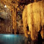 """Underground Lake in a Cavern, Mexico"" by canvass22"
