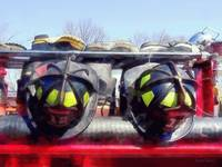 Fire Helmets and Boots