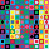 Vasarely 1 Art Prints & Posters by Jeff Vorzimmer