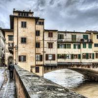 The Ponte Vecchio, Northeast Corner (Florence) Art Prints & Posters by Marc Garrido