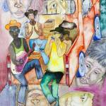 """""""After the work, young people on a pick up"""" by gheider"""