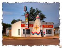 On the Mother Road - Tee Pee Curios