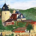 """Chateau De LaTreyne"" by DianaNadalFineArt"