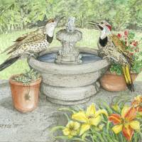 Flickers @ Fountain Art Prints & Posters by Virginia & Ken Harris