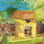 """Chestnut House II"" by DianaNadalFineArt"