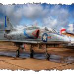 """""""USN A-4 Skyhawk - II (8220)"""" by BKap"""