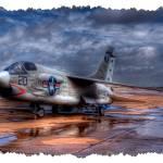"""Voght USMC F-8E ""Crusader"" - III (8233A)"" by BKap"