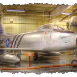 """""""North American USAF F-86A Sabre - II (8203-A)"""" by BKap"""