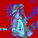 Indian Chief Pop Art
