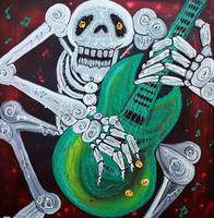Skeleton Guitarist