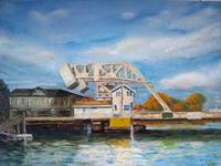 Mystic River Bascule Bridge Mystic CT