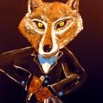 """""""Wolf Waiter Uncorking a Bottle"""" by Polylerus"""