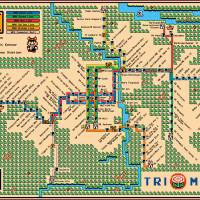 Portland Trimet MAX Map (2015) Art Prints & Posters by Dave Delisle