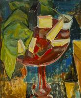 Red Table Top Still Life
