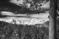 Colorado Rocky Mountain View bw