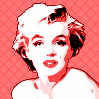 Marilyn Monroe - Pink Lady - Pop Art