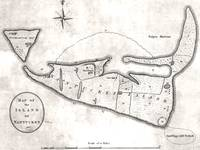 Vintage Map of Nantucket (1782)