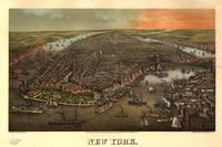 Vintage Pictorial Map of New York City (1873)