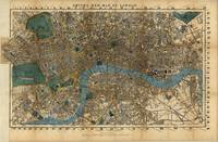 Vintage Map of London England (1860)