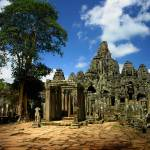 """""""Bayon Temple View from the East"""" by JoeyAgbayani"""