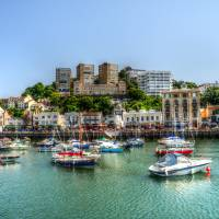 Torquay Seascape South Devon England Art Prints & Posters by Stephen Walton