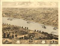 Vintage Pictorial Map of Jefferson City MO (1869)
