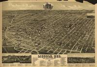 Vintage Pictorial Map of Lincoln NE (1889)