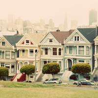 Painted Ladies SFO