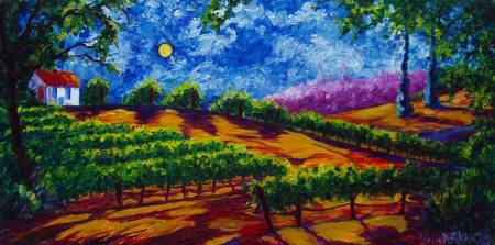 Midnight in the Vineyards