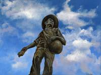 Oklahoma Sower in the Sky